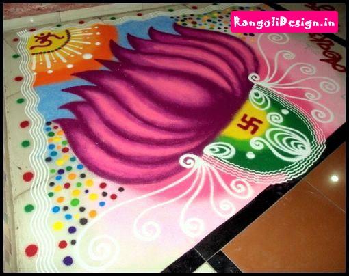 Diwali Rangoli Designs 3