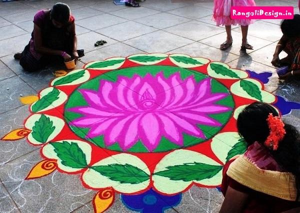 Diwali Rangoli Designs 5