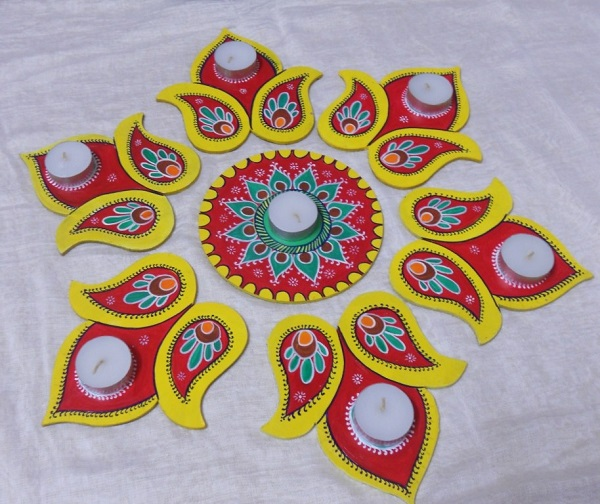 Diwali Rangoli Designs 6