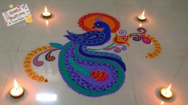 Diwali Rangoli Designs 8
