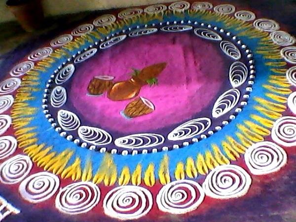 Diwali Rangoli Designs 9