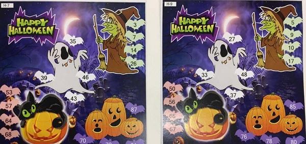 Halloween Tambola Ticket: Kitty Party Games