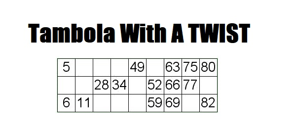 Tambola Game With Interesting Twist