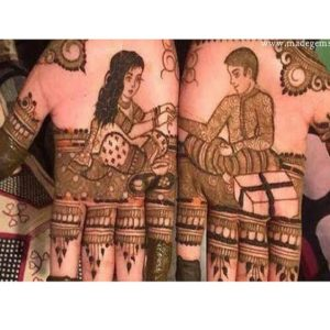Simple Mehandi Designs For Rakshabandhan