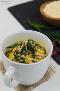 Microwave Mug Dhokla Recipe
