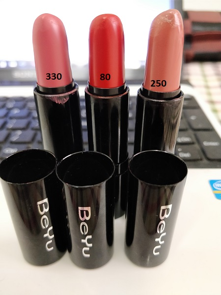 BeYu Lipsticks Review: Best Matte Lipsticks Ever