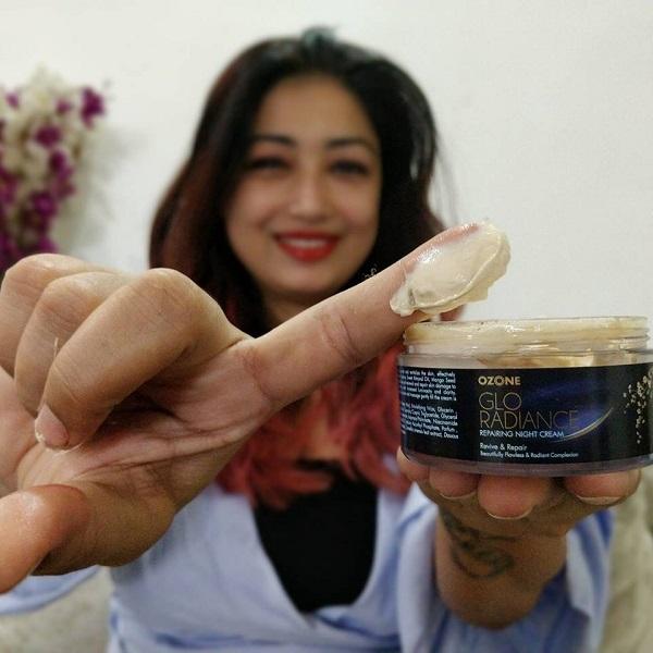 ozone glo radiance repairing night cream