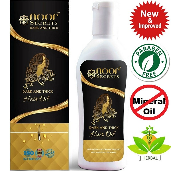 Male or Female pattern Baldness Solution: Noor Secrets Herbal Hair Oil