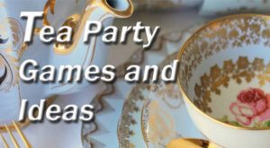 Tea Party Theme Kitty Party