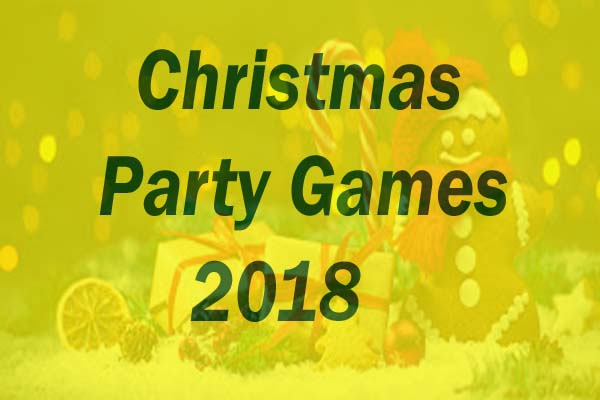 New Christmas Party Games 2018