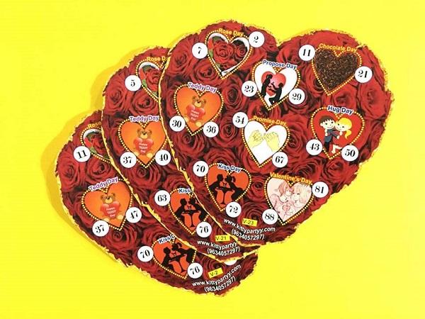 Valentines Day Theme Tambola Games
