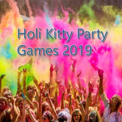 kitty party games for holi