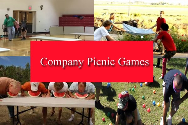 Company Picnic Games: Best Picnic Games For Company Outing