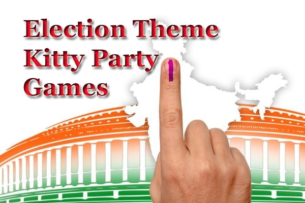 election theme kitty party games