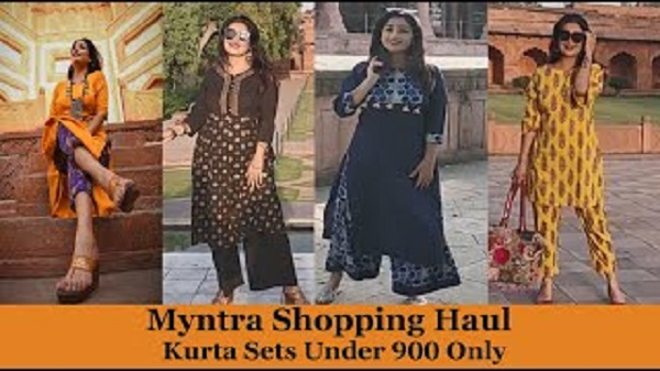Myntra Cotton Suits Under 900