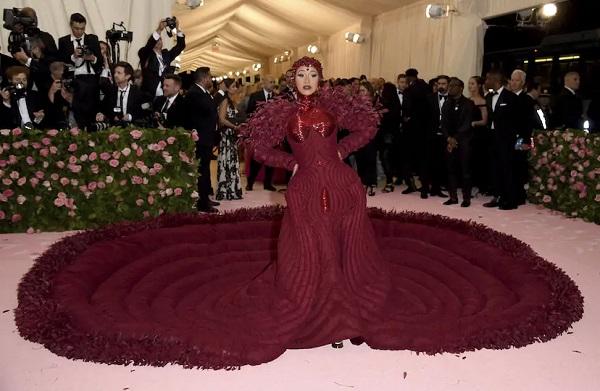 cardi b met gala 2019 fashion
