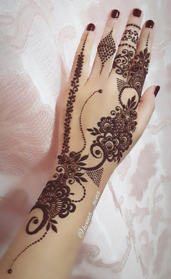 New Mehandi Designs For Teej And Rakshabandhan