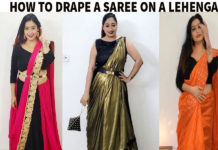 saree draping ideas