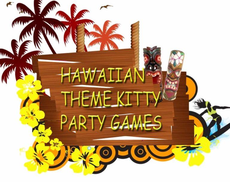 Hawaiian Theme Kitty Party At Home- Kitty Party Ideas