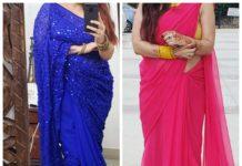 saree sahpe wear