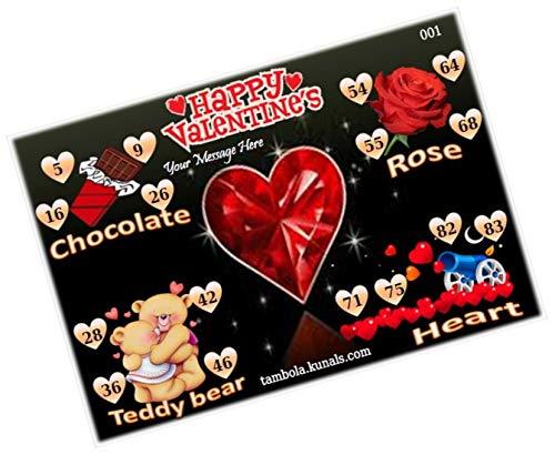 valentines day tambola tickets